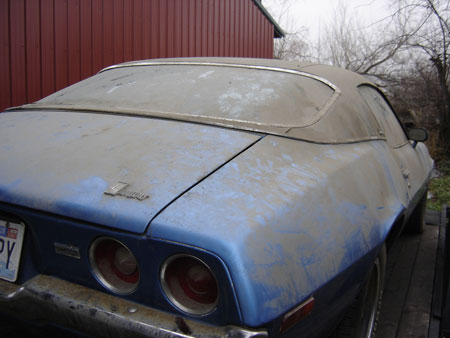 1973 Camaro on its way to a new life!!!