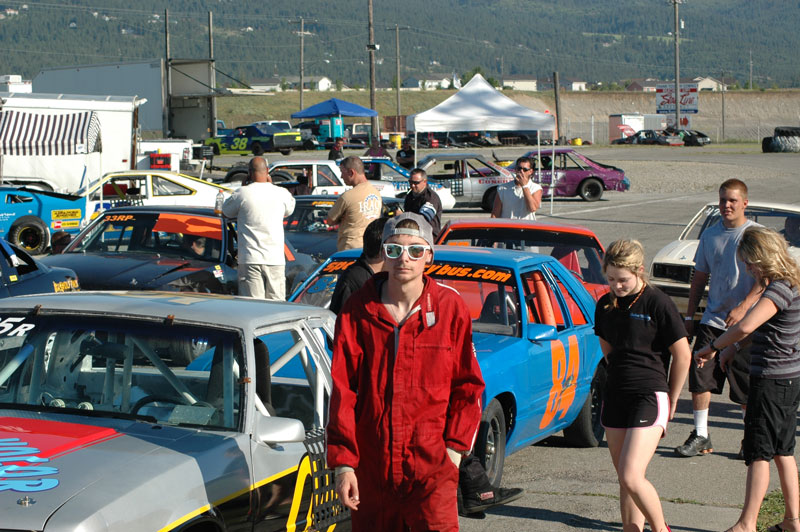 Josh Biehl #2 road runner stock car